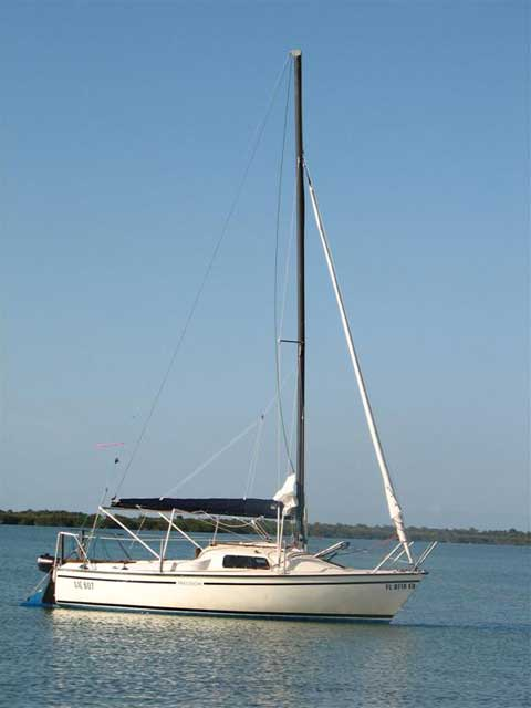 Precision 18 sailboat