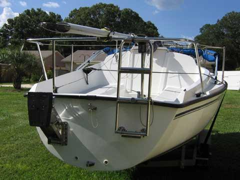 Precision 18, 2000 sailboat