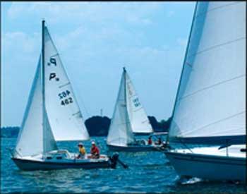 Precision 18, 1997 sailboat