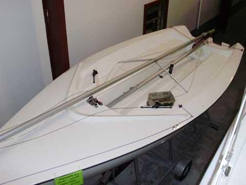 Precision 18.5 sailboat
