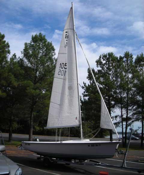 Precision 185 sailboat