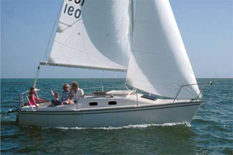 Precision 21 sailboat