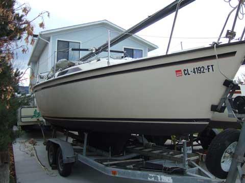 Precision 23 sailboat