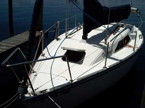 Precision 23 sailboat