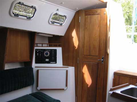 Precision 28 sailboat