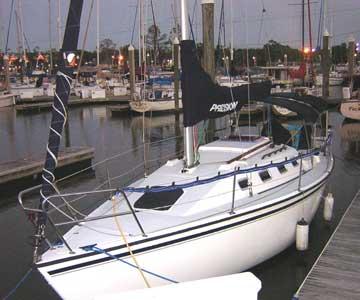 2000 Precision 28 sailboat
