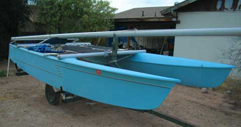 Prindle 16 sailboat