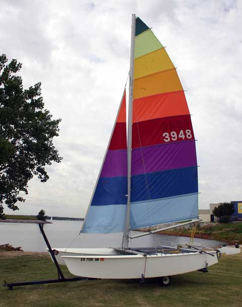 Trimaran Conversion on the Cheap [Archive] - Boat Design Forums