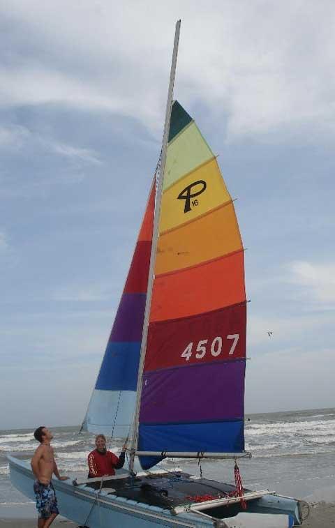 Prindle 16 catamaran sailboat for sale