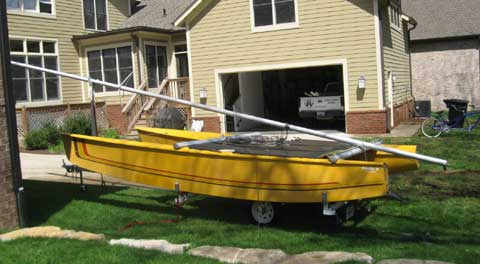 Prindle 18 sailboat