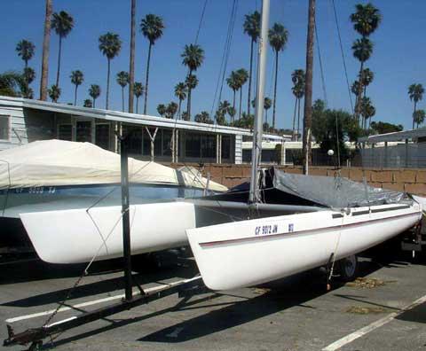 Prindle 18-2 sailboat
