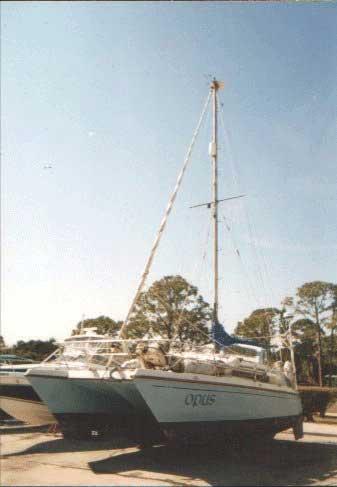 1986 Prout Quest 33 sailboat