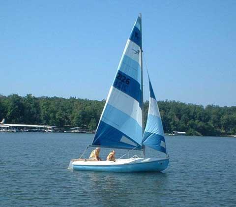 Rebel 16', 1965 sailboat