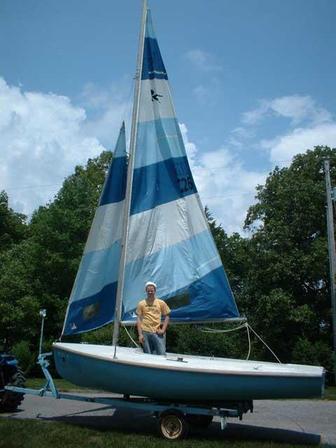 Rebel 16 1965 Uniontown Missouri Sailboat For Sale