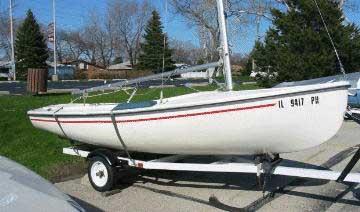 1976 Rebel 16 sailboat