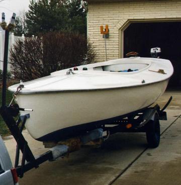 Trailer Bill Of Sale Texas >> 1958 Rebel 16 MKIV sailboat for sale