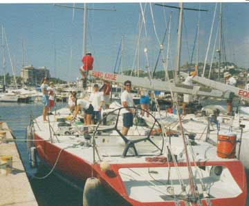 1989 Reichel/Pugh 50 sailboat