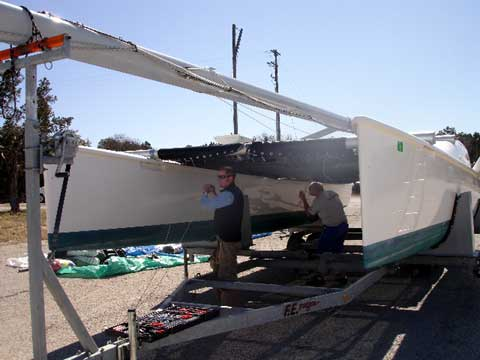 Reynolds 33 catamaran