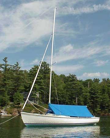 2003 Rhodes 19 sailboat