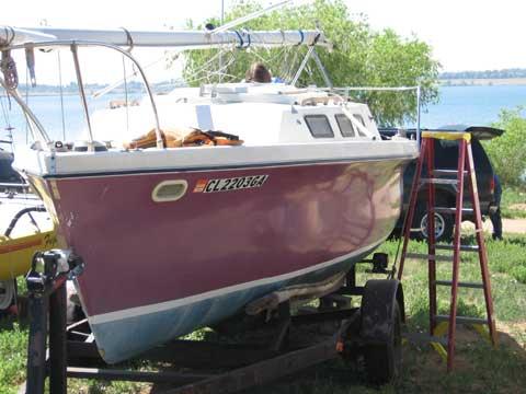 Rhodes 22 sailboat