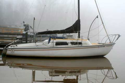 Rob Legg 24 sailboat