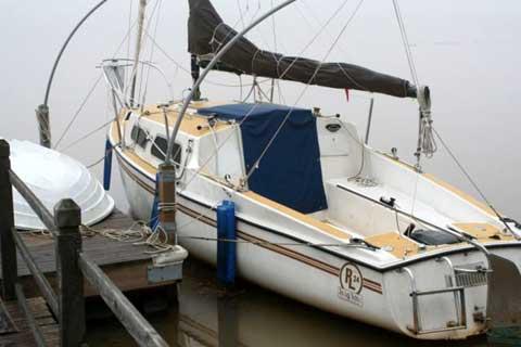 Rob Legg 24 sailboat