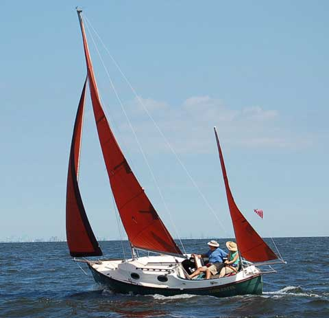Rob Roy 23 yawl sailboat