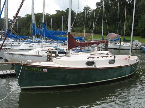 Rob Roy 23 yawl sailboat