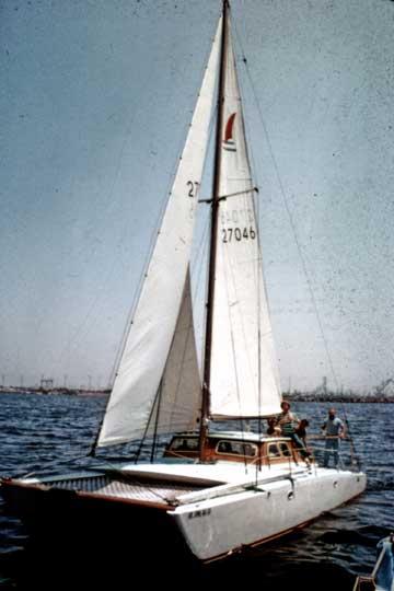 1962/3 Rudy Choy CSK 36 sailboat