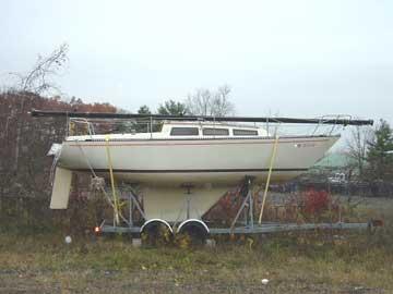 1980 S2 7.3 sailboat