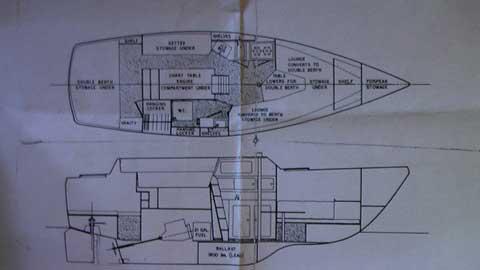 S2 26, C/C, 1976 sailboat