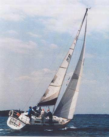 1987 S2 35C sailboat