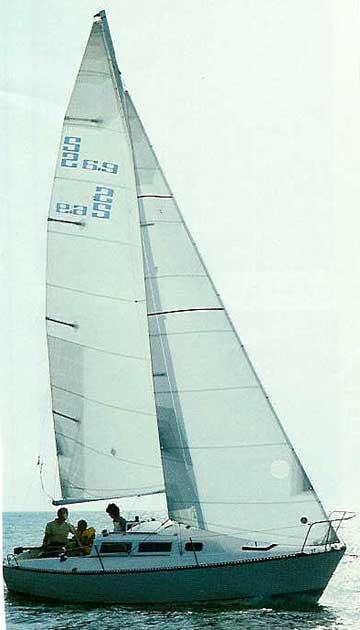 1982 S2 6.7 Grand Slam sailboat