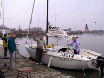 1976 S2 6.8 sailboat