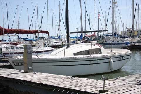 S2 7.0 sailboat