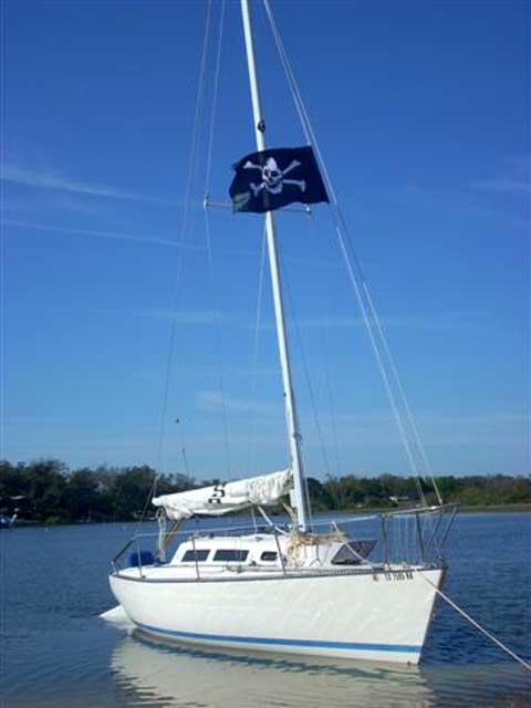 S2 7.9 sailboat