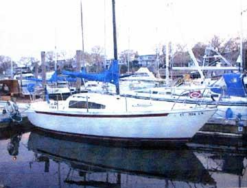 1976 S2 8.0 sailboat