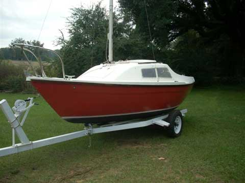 Sandpiper 19 sailboat