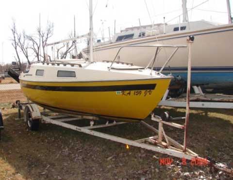 San Juan 21 sailboat