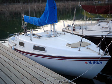 1978 San Juan 21 Sailboat For Sale