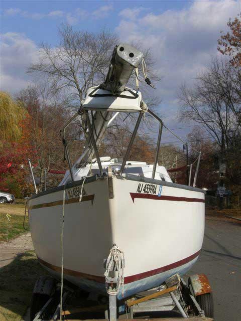 San Juan 23 sailboat