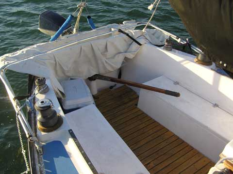 San Juan 24 sailboat