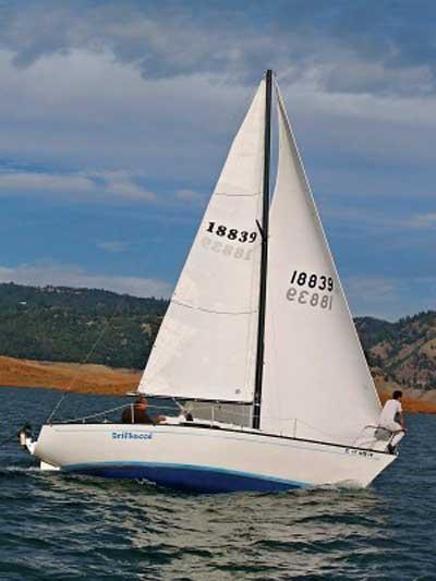 San Juan 24, 1977 sailboat