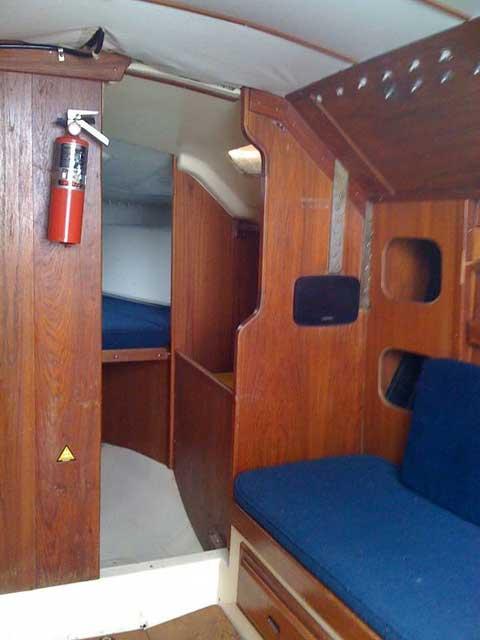San Juan 30, 1978, Sarnia, on Lower Lake Huron, Ontario, Canada sailboat