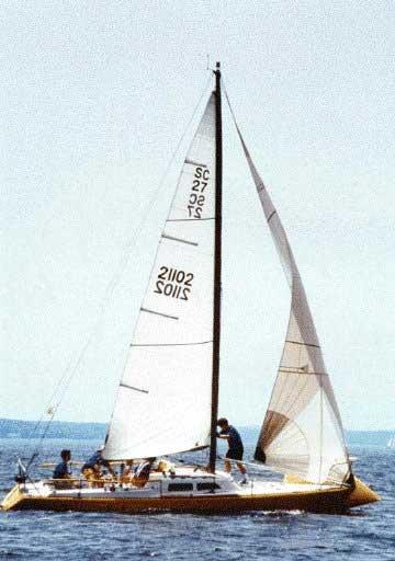 Trailer Bill Of Sale Texas >> Santa Cruz 27 sailboat for sale