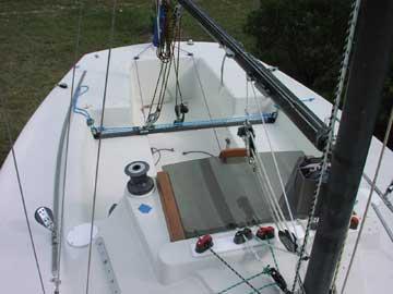 1977 Santana 20 sailboat