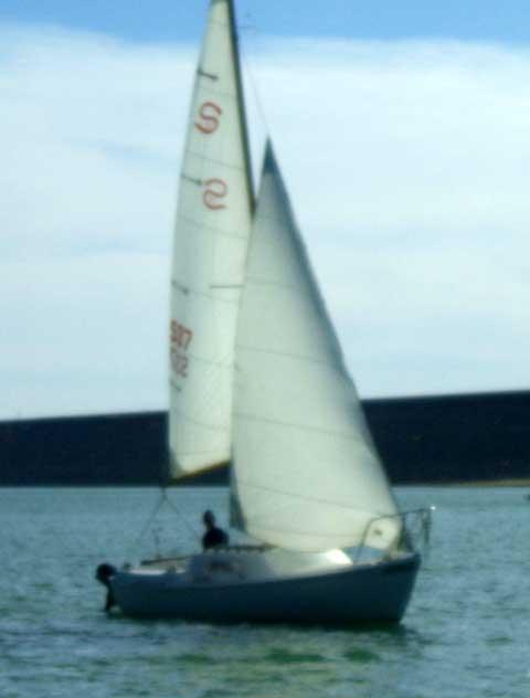 Santana 21 sailboat