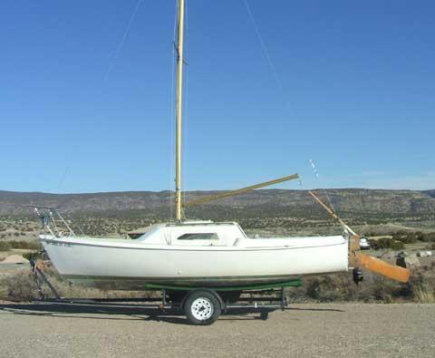 Santana 22 sailboat