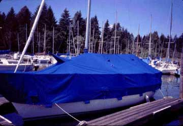 1994 Santana 2023C sailboat