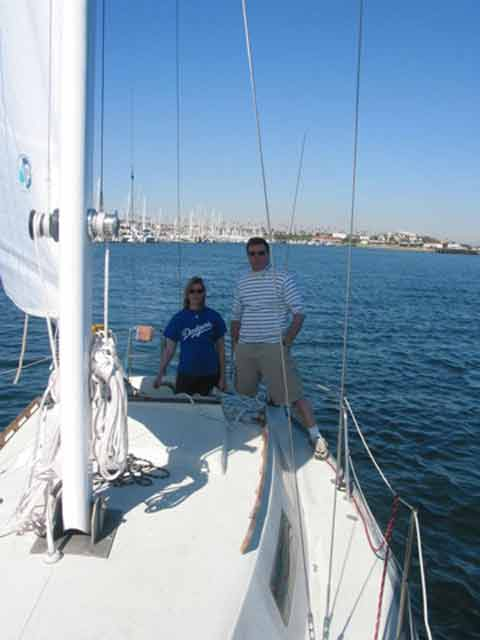 Santana 28 sailboat for sale